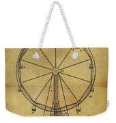 1907 Ferris Wheel Patent Weekender Tote Bag