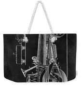 1907 Tractor Blueprint Patent Weekender Tote Bag