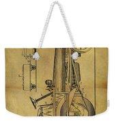 1907 Tractor Patent Weekender Tote Bag