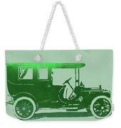 1909 Packard Limousine Green Pop Weekender Tote Bag
