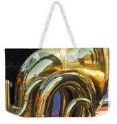 1910 Pope Hartford T Brass Horn Weekender Tote Bag