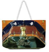 1911 Ford Model T Runabout Hood Ornament Weekender Tote Bag