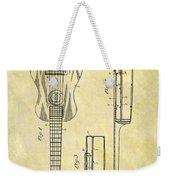 1911 Guitar Patent Weekender Tote Bag
