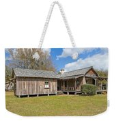 1912 Simmons Farm In Christmas Florida Weekender Tote Bag
