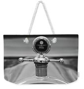 1913 White Gentlemans's Roadster Hood Ornament 2 Weekender Tote Bag