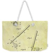 1913 Wrench Patent Weekender Tote Bag