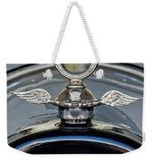 1915 Chevrolet Touring Hood Ornament 2 Weekender Tote Bag