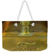 1915 Ford Depot Hack Hood Ornament 3 Weekender Tote Bag