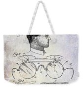 1916 Sunglasses Patent Weekender Tote Bag