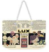 1917 Soap Ad  Weekender Tote Bag
