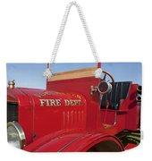 1919 Volunteer Fire Truck Weekender Tote Bag