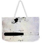1920 Baseball Bat Patent Weekender Tote Bag