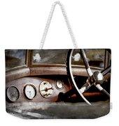 1921 Bentley Steering Wheel -0454ac Weekender Tote Bag