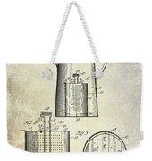 1921 Coffee Pot Patent Weekender Tote Bag