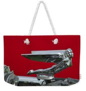 1924 Ford Hood Ornament Weekender Tote Bag