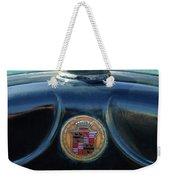 1925 Cadillac Hood Ornament And Emblem Weekender Tote Bag
