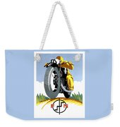 1925 Fn Motorcycles Advertising Poster Weekender Tote Bag