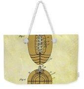 1925 Football Patent Weekender Tote Bag