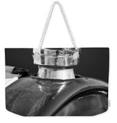 1925 Ford Model T Hood Ornament 2 Weekender Tote Bag
