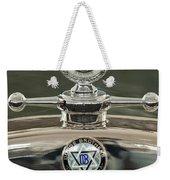 1926 Dodge Woody Wagon Hood Ornament Weekender Tote Bag
