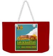 1926 San Sebastian Grand Prix Racing Poster Weekender Tote Bag