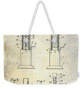 1926 Toy Filling Station Patent Weekender Tote Bag
