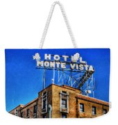 1927 Hotel Monte Vista - Flagstaff  Weekender Tote Bag