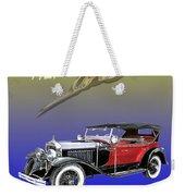 1927 Lasalle Weekender Tote Bag
