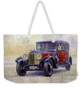 1927 Rolls-royce 40-50 Phantom 1  Weekender Tote Bag