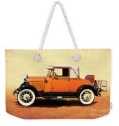 1928 Classic Ford Model A Roadster Weekender Tote Bag