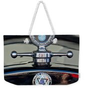 1928 Dodge Brothers Hood Ornament Weekender Tote Bag