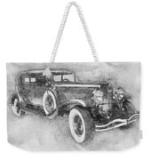 1928 Duesenberg Model J - Automotive Art - Car Posters Weekender Tote Bag