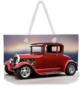 1928 Ford 'hot Rod A' Coupe Weekender Tote Bag