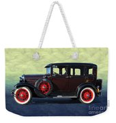 Historical Ford 4 Door Sedan Weekender Tote Bag