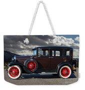 Classic 4 Door Ford Weekender Tote Bag