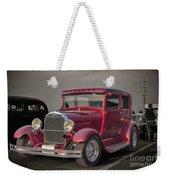 1929 Ford Model A Tudor Sedan Weekender Tote Bag by Gene Healy