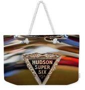 1929 Hudson Cabriolet Hood Ornament Weekender Tote Bag