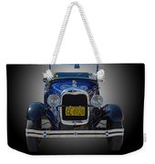 1929 Model A Ford Convertible Weekender Tote Bag