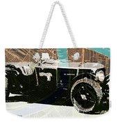 1930 Bentley 4.5 Litre Over New Orleans Old Map Weekender Tote Bag
