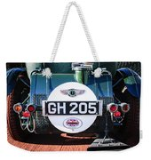 1930 Bentley Speed Six Taillights -0277c Weekender Tote Bag