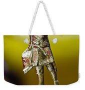1930 Cadillac Lasalle Hood Ornament Weekender Tote Bag
