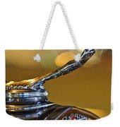 1930 Cadillac Roadster Hood Ornament Weekender Tote Bag
