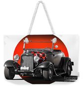 1930 Ford 'red Ball Express' II Weekender Tote Bag