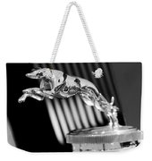 1930 Lincoln Berline Hood Ornament Weekender Tote Bag