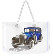 1930 Lincoln L Berline Weekender Tote Bag