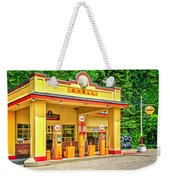 1930s Shell Gas Station Weekender Tote Bag