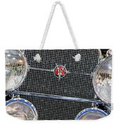 1931 Cadillac Phaeton Grille And Headlights Weekender Tote Bag