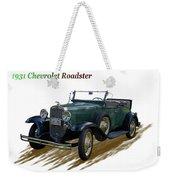 1931 Chevrolet Antique Roadster Weekender Tote Bag