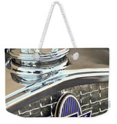 1931 Chevrolet Hood Ornament 2 Weekender Tote Bag