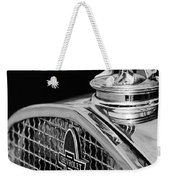1931 Chevrolet Hood Ornament 4 Weekender Tote Bag